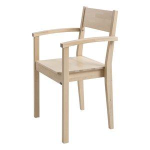 Käsinojallinen korkea tuoli Siiri